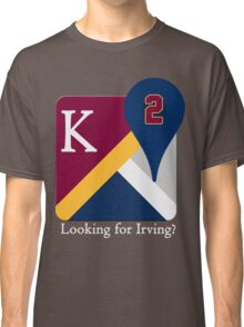 Kyrie Irving Maps Classic T-Shirt