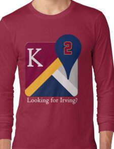 Kyrie Irving Maps Long Sleeve T-Shirt