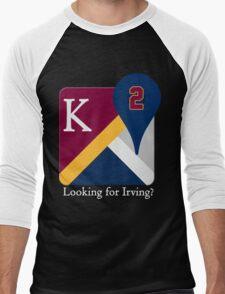 Kyrie Irving Maps Men's Baseball ¾ T-Shirt