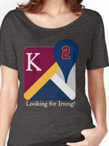 Kyrie Irving Maps Women's Relaxed Fit T-Shirt