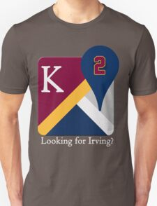 Kyrie Irving Maps Unisex T-Shirt