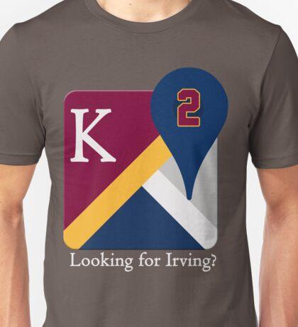 Kyrie Irving Maps Unisex T-Shirt