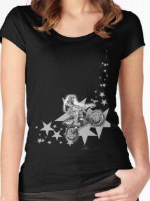 Dirt Bikin' Women's Fitted Scoop T-Shirt