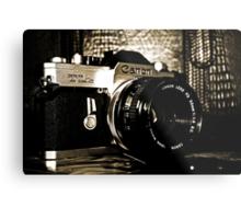 My First Camera Metal Print