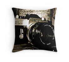 My First Camera Throw Pillow