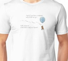 "Keane ""Somewhere Only We Know"" Balloon Unisex T-Shirt"
