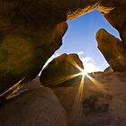 Sunrise at Arch Rock, Joshua Tree National Park by photosbyflood