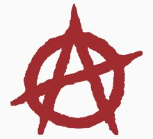 Anarchism Symbol Anarchist Red by BenjiKing