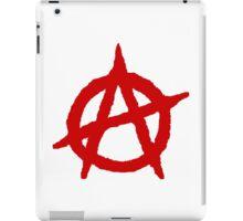 Anarchism Symbol Anarchist Red iPad Case/Skin