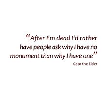 Death and monuments... (Amazing Sayings) by gshapley