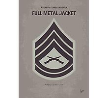 No030 My Full Metal Jacket minimal movie poster Photographic Print