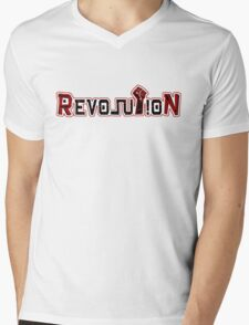 Revolution Fist Mens V-Neck T-Shirt