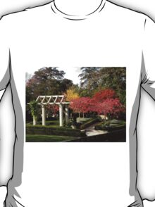 Autumn at Christchurch Gardens New Zealand T-Shirt