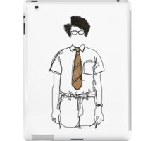 Moss Line Drawing iPad Case/Skin