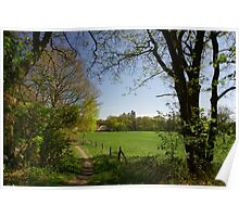 Rural View Poster