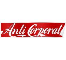 Anti-Corporate 'Subversive' Cola Logo Poster