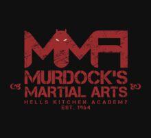 MMA - Murdock's Martial Arts (V04 - Bloodred) T-Shirt