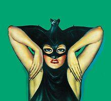 Weird Tales - Batgirl by monsterplanet