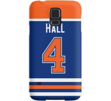 Edmonton Oilers Taylor Hall Jersey Back Phone Case Samsung Galaxy Case/Skin