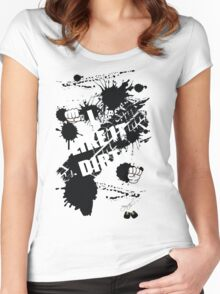 I Like it Dirty Women's Fitted Scoop T-Shirt