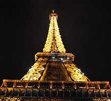 An Eiffel at Night by Jeff Ewing