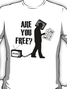 Are You Free? They Live, John Carpenter T-Shirt