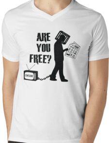 Are You Free? They Live, John Carpenter Mens V-Neck T-Shirt