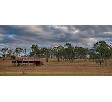 Country Clouds (Armidale) Photographic Print