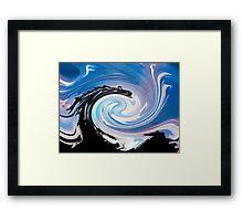 Dragon Blue Framed Print