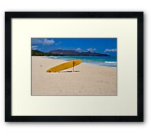 Waimanalo Beach Oahu Framed Print