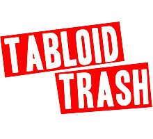 Tabloid Trash Photographic Print