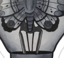 A Moths Paradise Sticker