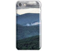The Blue Ridge Mountains iPhone Case/Skin