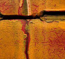 Texture orange 6 by Jean-François Dupuis