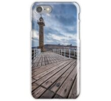Whitby Pier iPhone Case/Skin