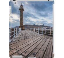 Whitby Pier iPad Case/Skin