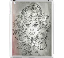 SkullLady iPad Case/Skin