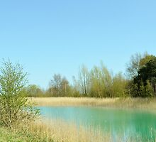Serenity At The Lake 2 (Fowlmead Sandwich Kent) by InspiredPhoto