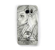 All Seeing Eye Lady Samsung Galaxy Case/Skin