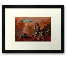 Aliens, are they real? Framed Print