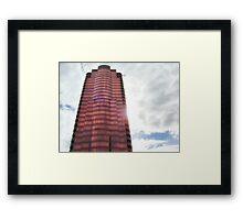 Corporate Castle Framed Print