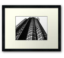 Corporate Prison Framed Print