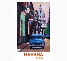 Havana in Cuba  - El Capitolo with oldtimer Unisex T-Shirt