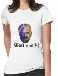 Well meth Womens Fitted T-Shirt