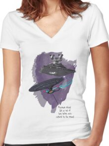 A Tactical Retreat Women's Fitted V-Neck T-Shirt