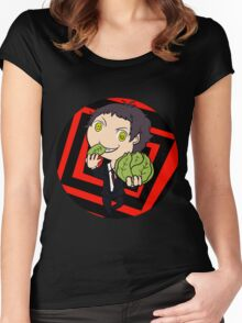 Cabbage monster Women's Fitted Scoop T-Shirt
