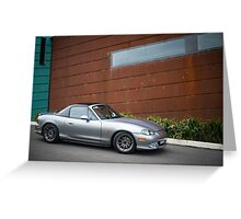 MX-5 Greeting Card