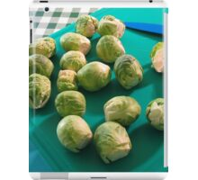 Greens are good for you! iPad Case/Skin