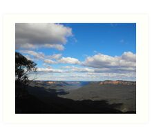Blue Mountains NSW Australia  Art Print