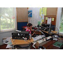 2BOB Radio Presenter Photographic Print